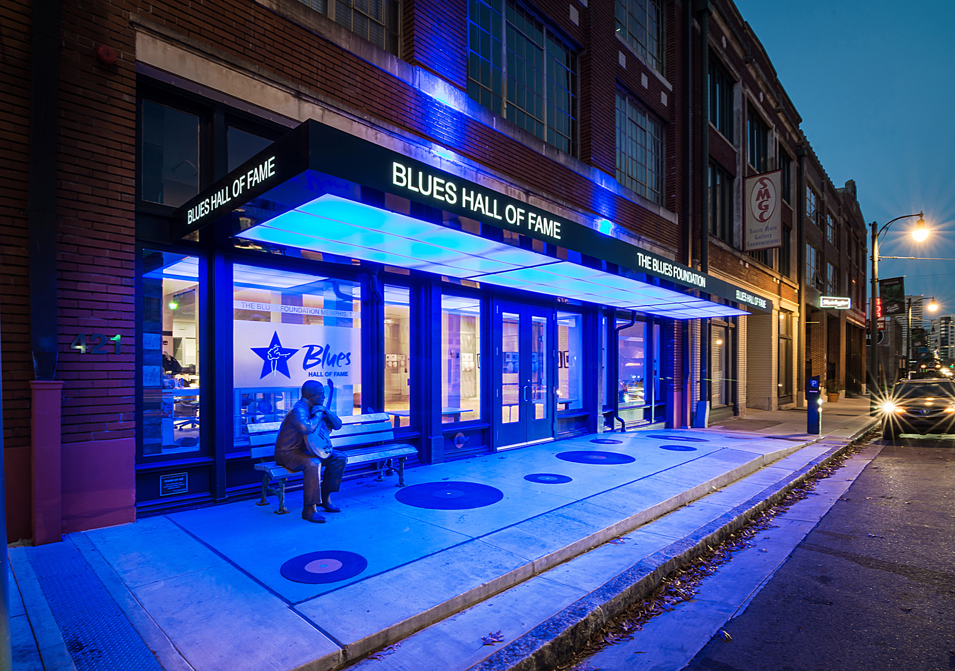 Blues foundation_Dusk Exterior (2 of 4).jpg