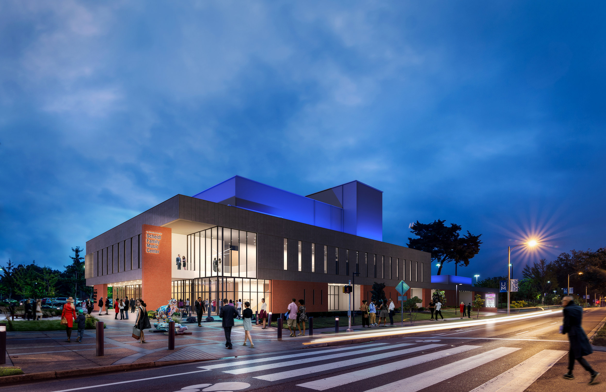 U of M Music Center_ext dusk.jpg