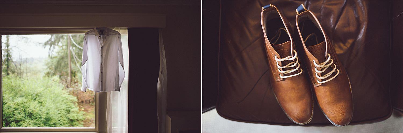 Matt's dress shirt and shoes from H&M