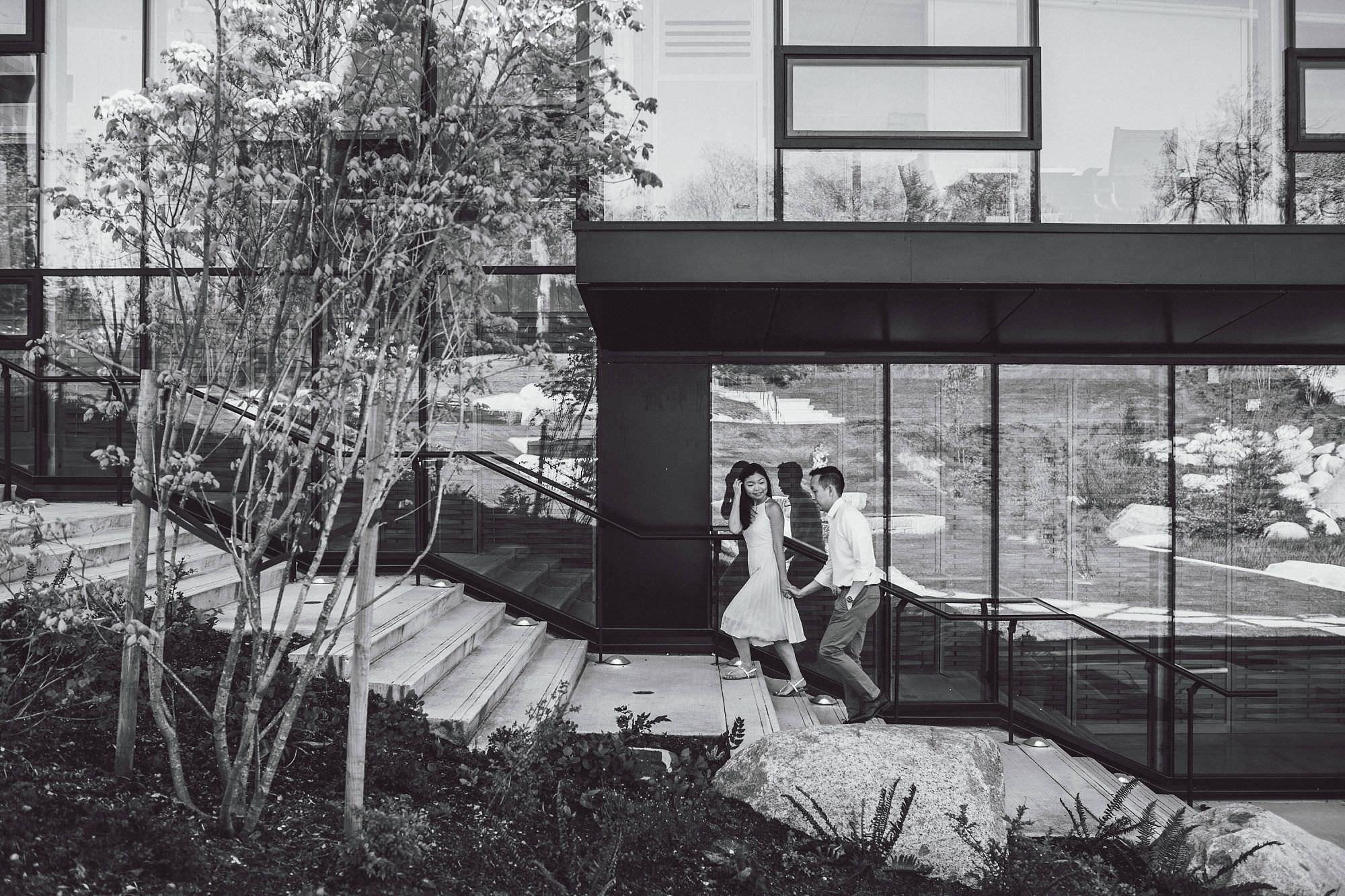 I'm always looking for leading lines to guide my couples into…loved how this turned out!