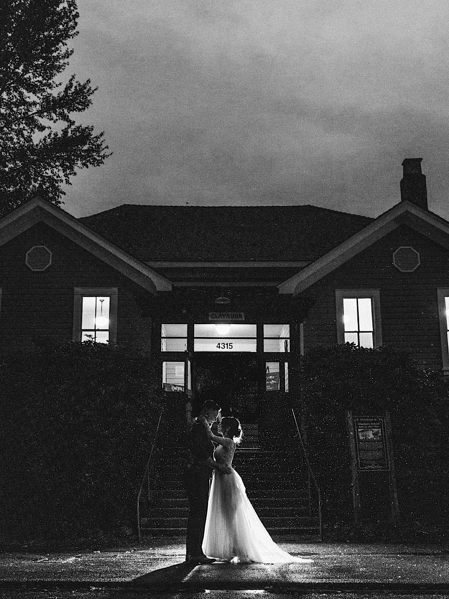 77_ALP - DomAaronBlog - 147_White_bride_and_in_dance_black_rain_the_Groomsmen_outside.jpg