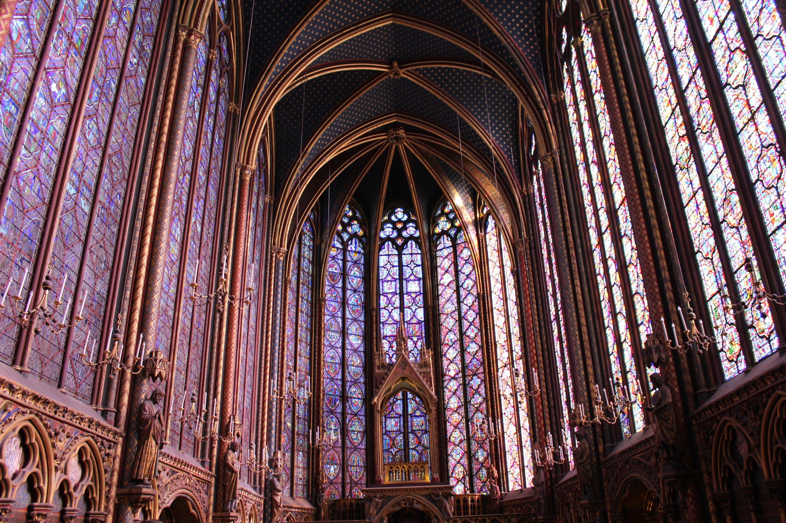 Sainte Chapelle, Paris (Photo: J. Gress)