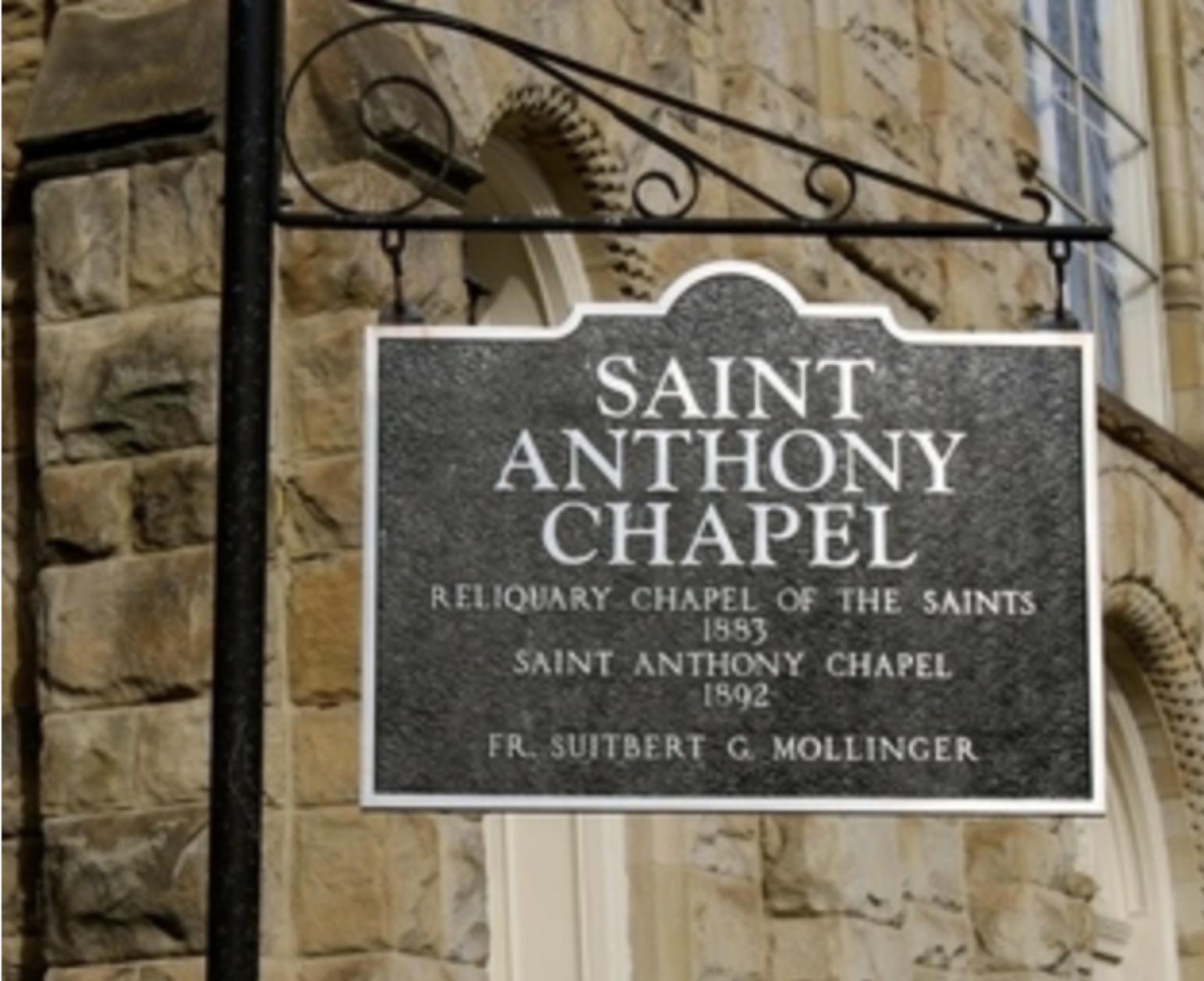 (Photo courtesy of  St. Anthony's Chapel )