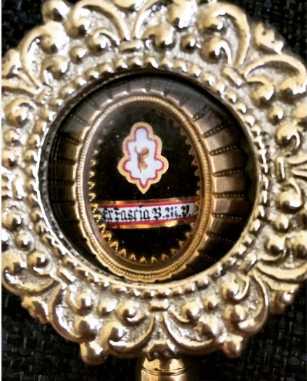 Relic of the Virgin Mary's Sash (Photo: A. VanVickle)