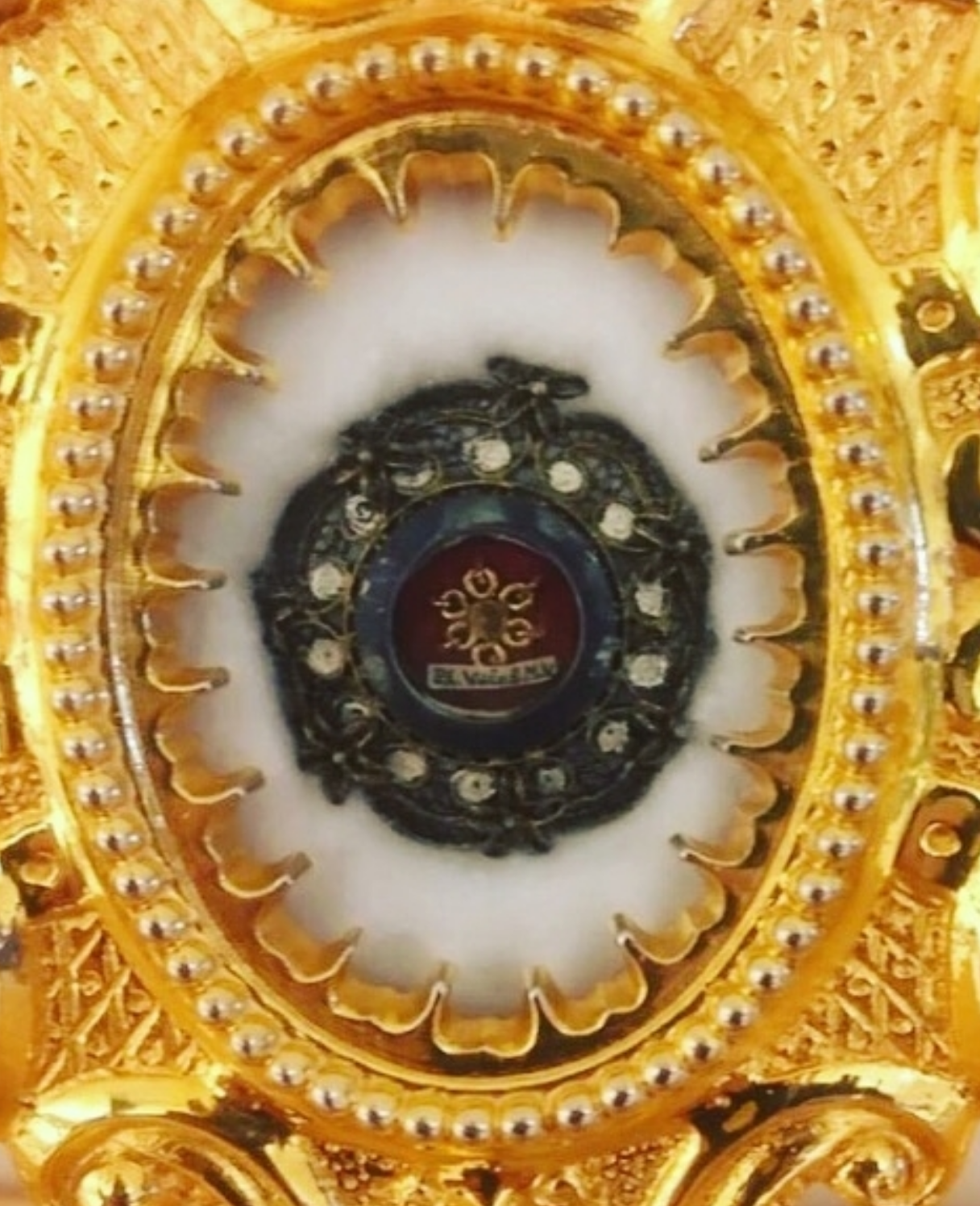 Relic of the Veil of the Blessed Mother (Photo: A. VanVickle)