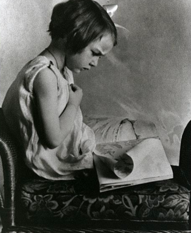 A very young and very intense Flannery O'Connor (New Georgia Encyclopedia)