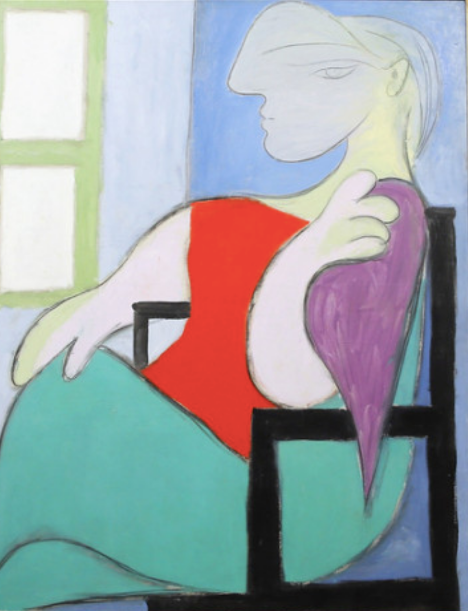 Picasso, Woman Sitting Near a Window. Recently sold for $44 million (Wikicommons)