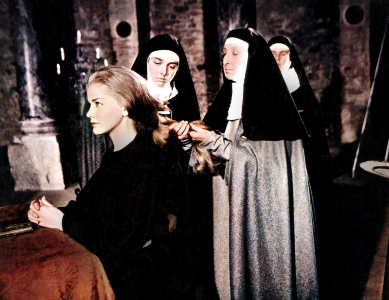 Dolores Hart in the film, Francis of Assisi, 1061 (The Everett Collection)