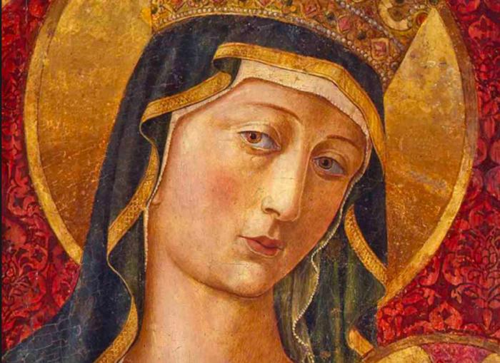Madonna and Child, Benozzo Gozzoli, 1480 (Wikicommons via Traveling in Tuscany)