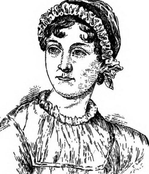 Jane Austen (Flickr Cornell University Library)