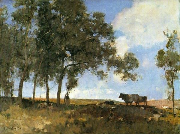 Edward Arthur Walton - Autumn Sunshine (Wiki Commons)