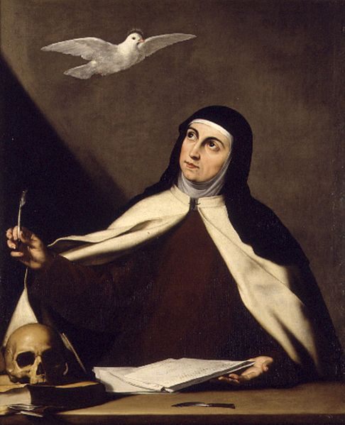 Jusepe de Ribera, Saint Teresa of Avila, 1644 (Wiki Commons)