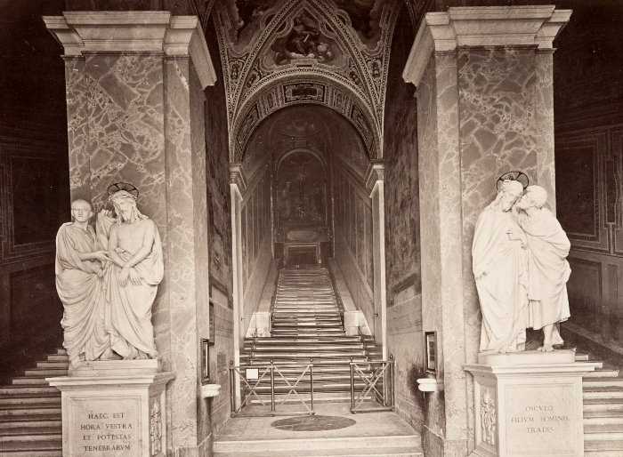 Holy Stairs, Rome (Public Domain)