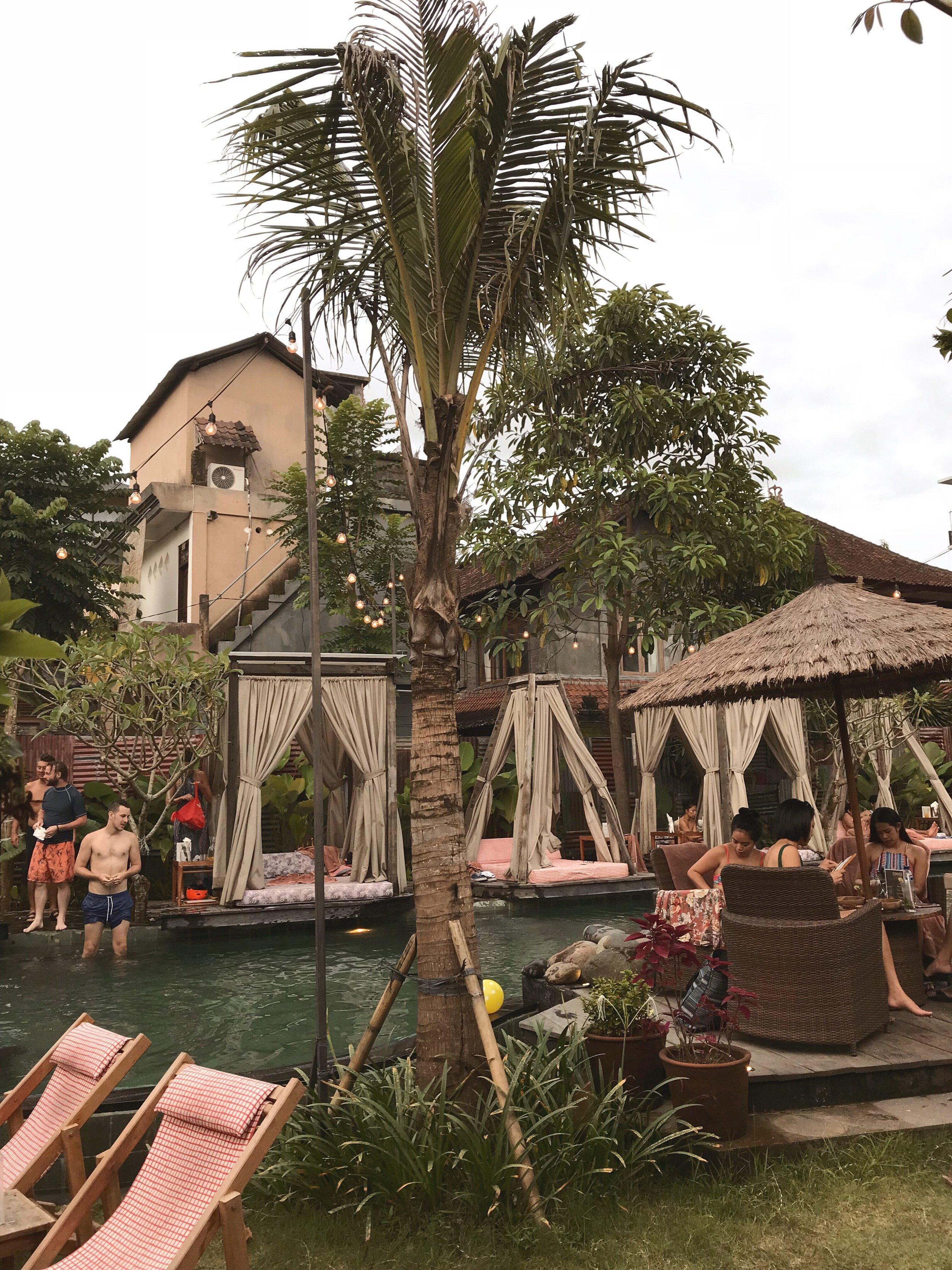 Where to find Folk Pool & Gardens - Jl Monkey Forest, Ubud, Bali, 80571