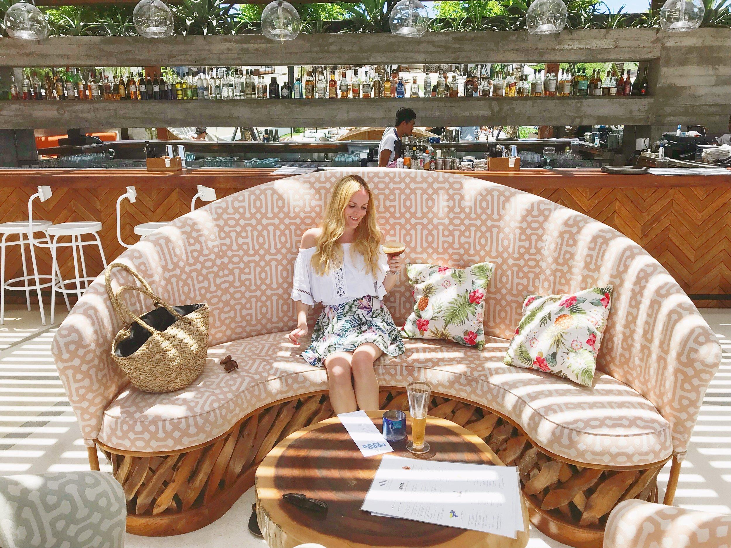Drinks at Ulu Cliffhouse Bali.JPG