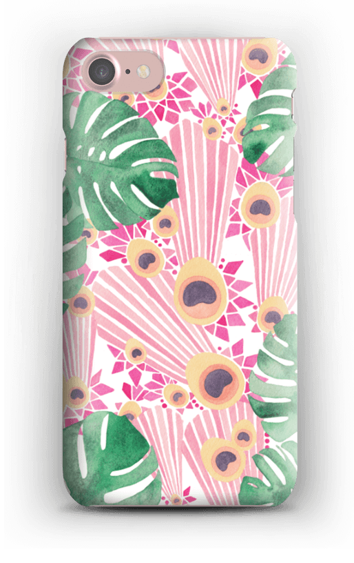 2. Pink Peacock Case by Sophie Tivona - £19- £35Available in iPhone, Samsung, Google, iPad & iPod Specifications