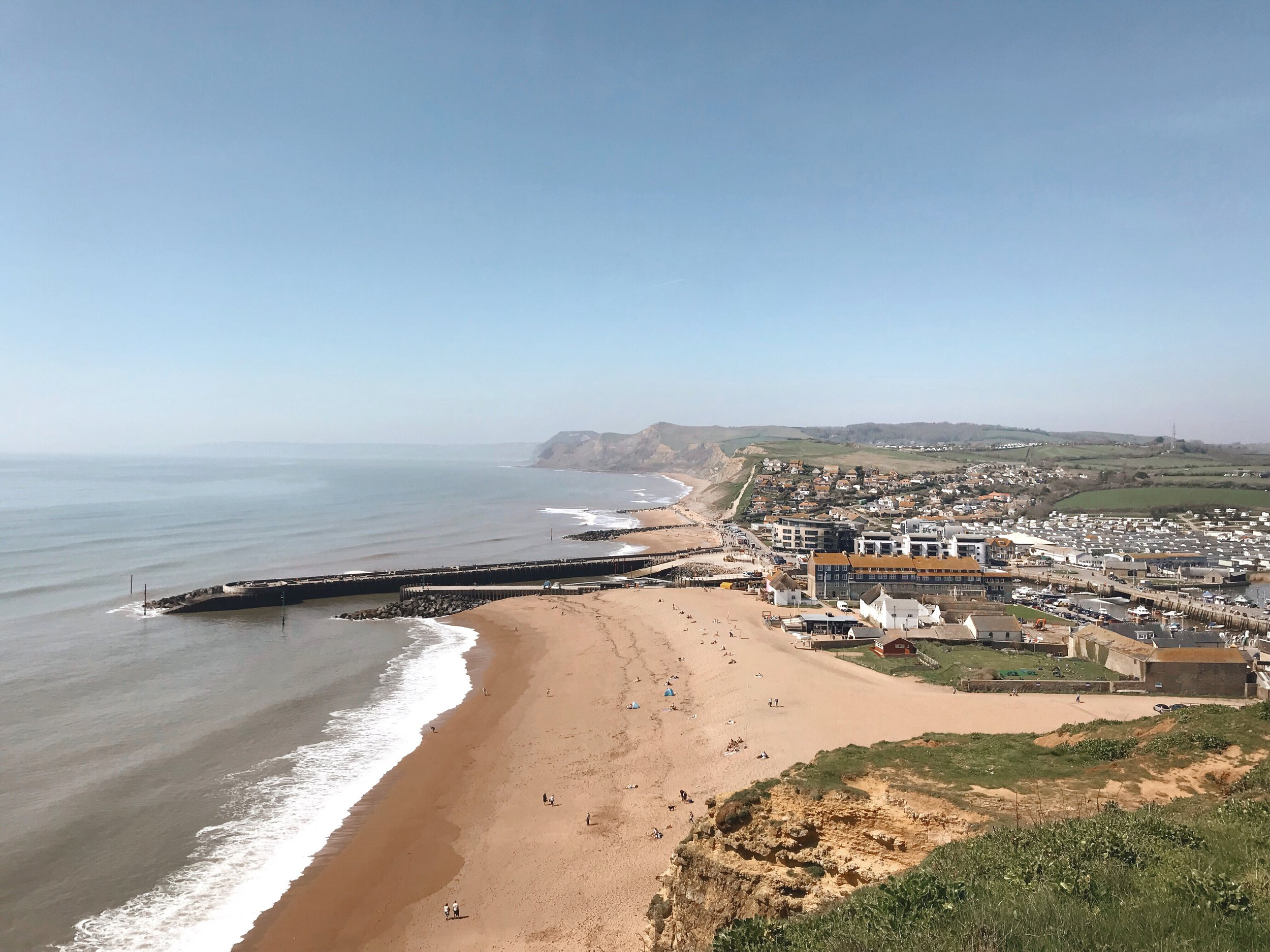 Sightseeing in Dorset, West Bay, Bridport.jpg