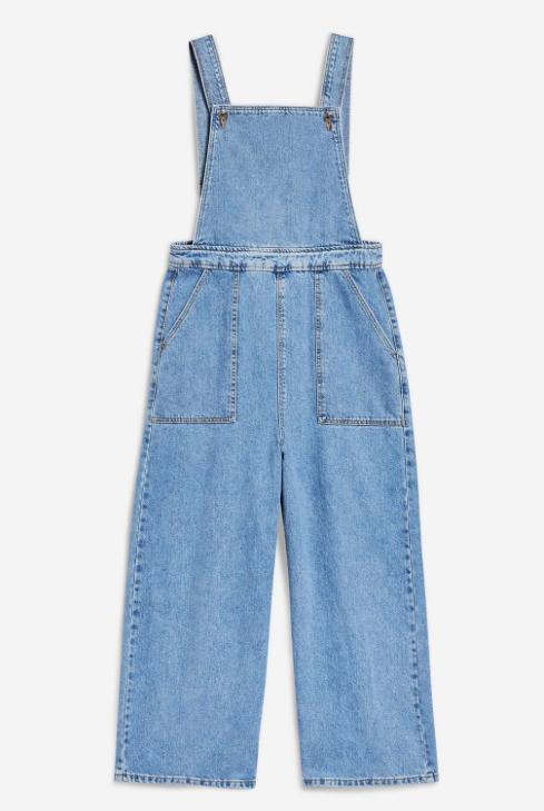 4. Cropped Denim Jumpsuit - £46