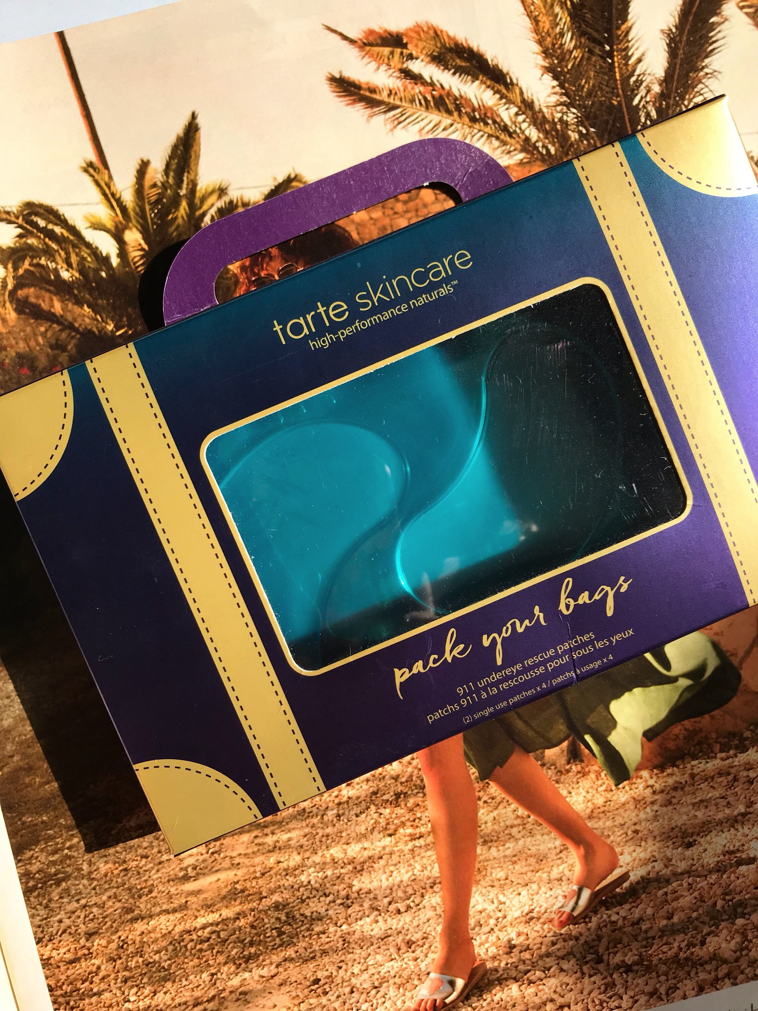 Tarte Skincare Pack Your Bags