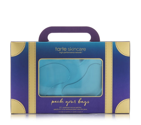 Tarte Cosmetics Pack Your Bags 911 Under Eye Rescue Patches - £18 (Image Tarte Cosmetics)