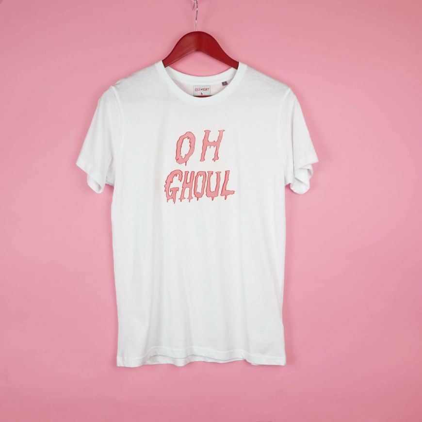 - Oh Ghoul Halloween T Shirt Rock on Ruby