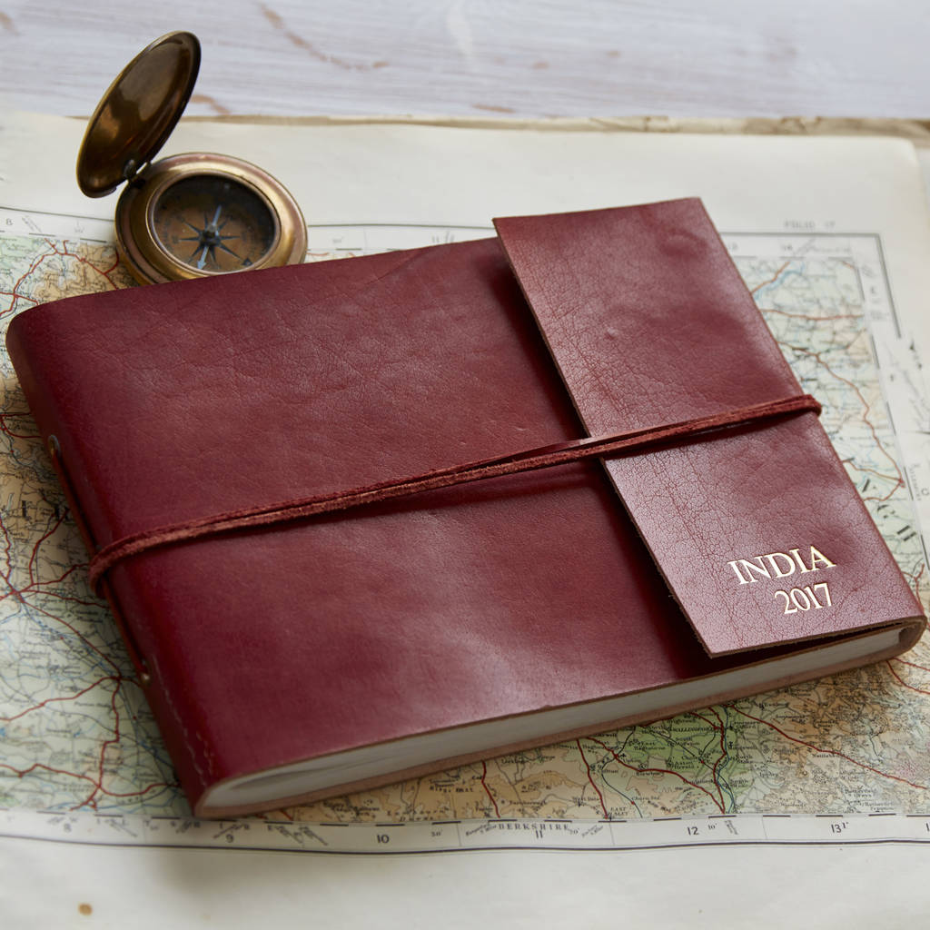 PERSONALISED LEATHER PHOTO ALBUM - Paper High love to seek out the most beautiful products and gifts being produced by Fair Trade organisations in India, Nepal and Sri Lanka. They started their business in 2001 through a love of travelling and Fair Trade, and are proud to be working with some incredibly inspirational producers and to be able to help their local communities.Their beautifully distressed leather photo albums are ideal for storing and sharing your most treasured memories, making sure your special moments are celebrated in style. Beautifully handmade, eco-friendly and Fair Trade, they also make a difference to the communities who make them, as the cotton is made by a charity that promotes women's development in rural areas of Rajasthan, India.
