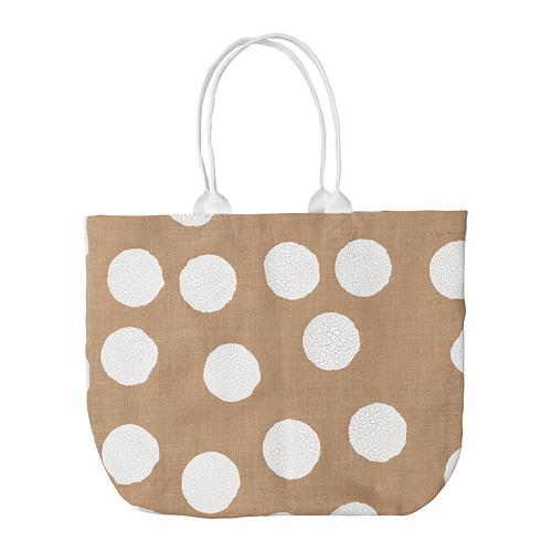 - Tänkvärd Polka Dot Beach Bag | Ikea