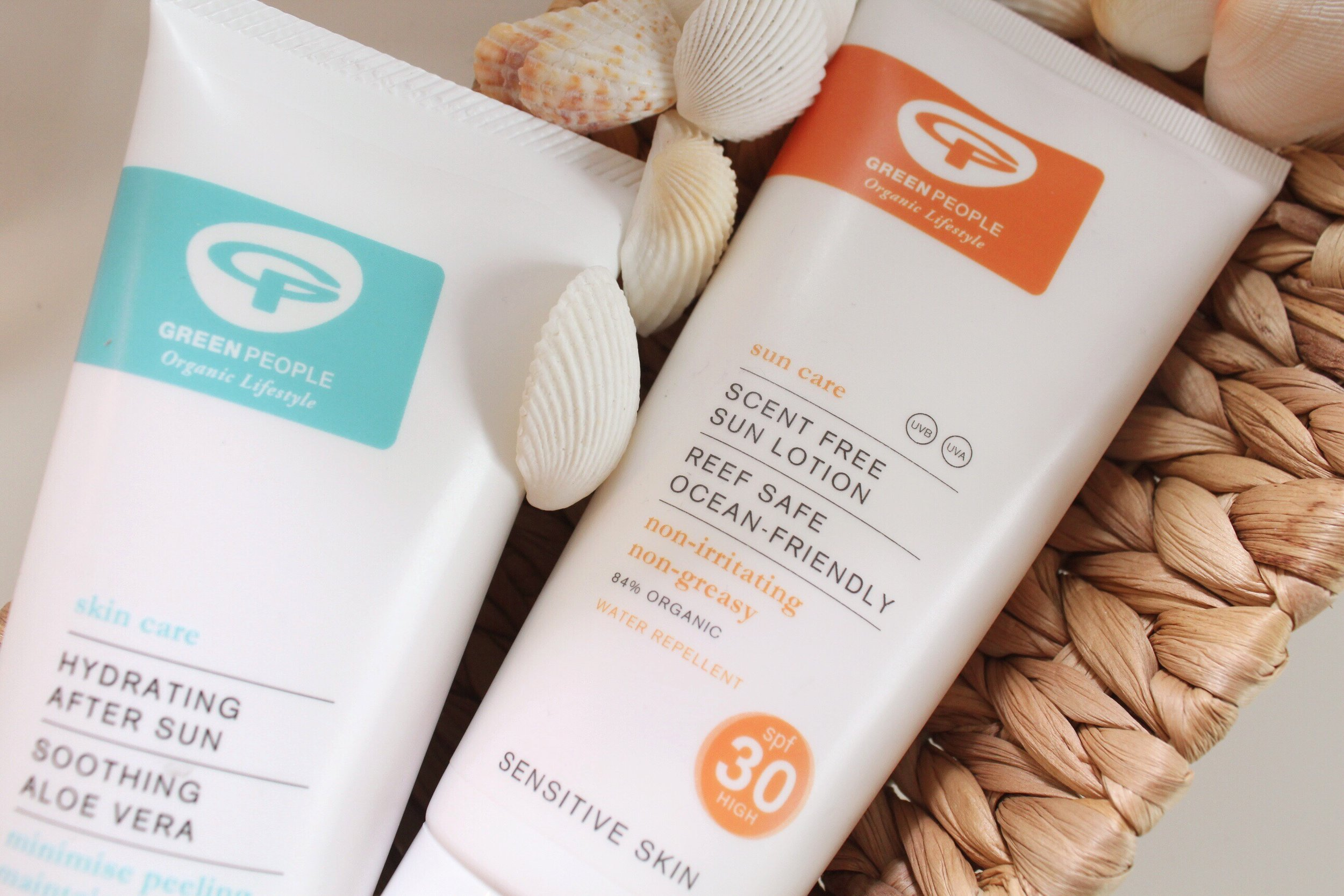 Green People UK Sensitive Skin Reef Safe Ocean Friendly Suncare Review Emma Curran