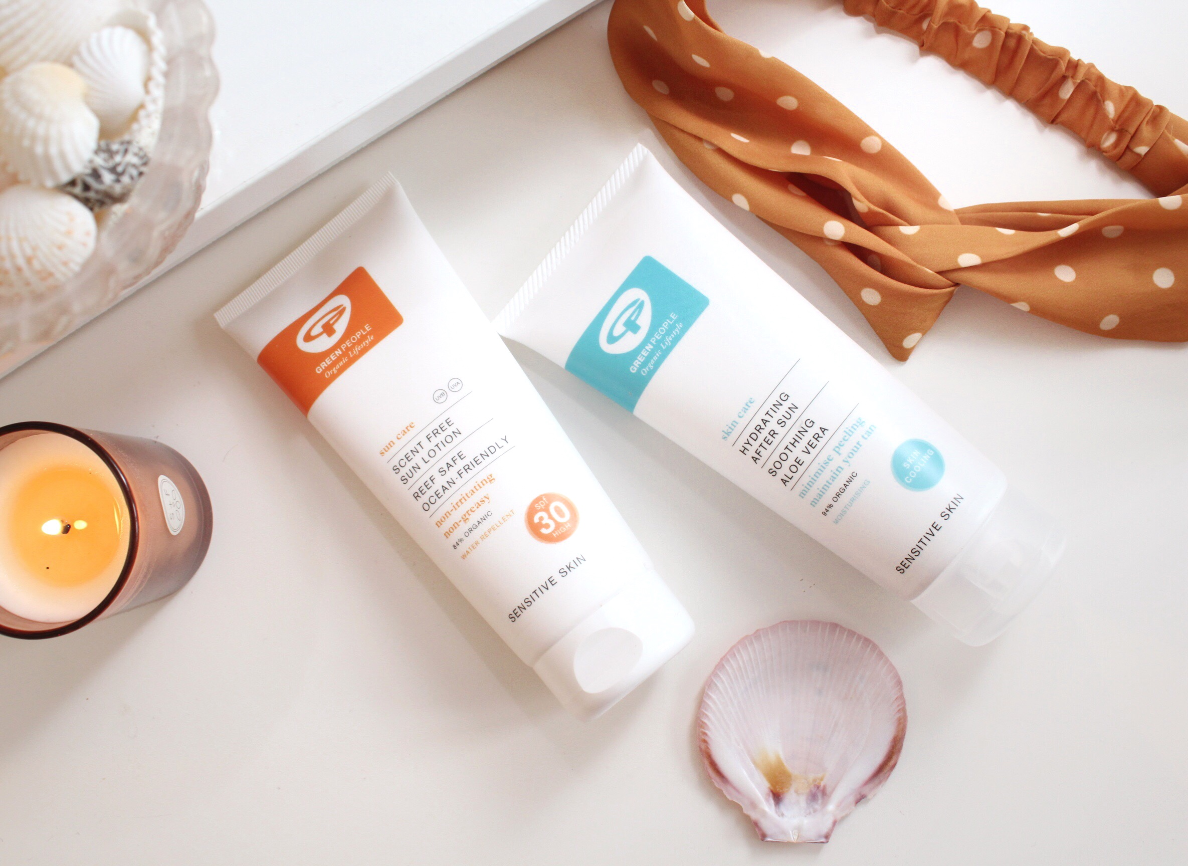 Green People UK Sensitive Skin Cruelty Free Suncare Review Emma Curran Blog