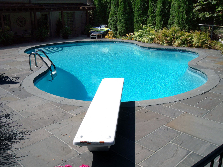 Concrete Pool - After Renovation Photo