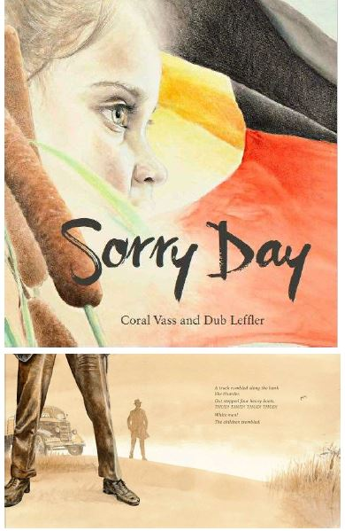 Sorry Day - By Coral Vass and Dub LefflerThere was a hum of excitement. Flags flickered in the breeze as Maggie's heart danced with delight. 'This is a very special day!' her mother said.Maggie holds tight to her mother as they await the long anticipated apology to show a willingness to reconcile the past for future generations. In the excitement of the crowd Maggie loses touch of her mother's hand and is lost.In a time 'long ago and not so long ago' children were taken from their parents, their 'sorrow echoing across the land'. As the Prime Minister's speech unfolds Maggie is reunited with her mother. But the faces and memories of the stolen generation are all around them. Two stories entwine in this captivating retelling of the momentous day when the then Prime Minister of Australia, Kevin Rudd, acknowledged the sorrows of past and said 'Sorry' to the generation of children who were taken from their homes.The book includes a foreword from Lee Joachim; Chair of Rumbalara Aboriginal Cooperative and Director of Research and Development for Yorta Yorta Nation Aboriginal Corporation.