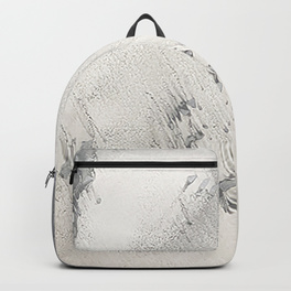 sandy beach grey backpack