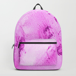 sandy beaches fuschia backpack