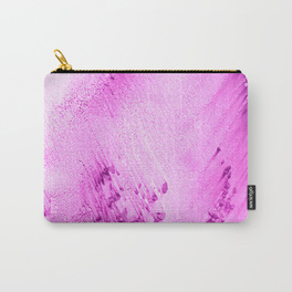 sandy beaches fuschia carry-all pouch