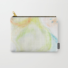 swirling bubbles carry-all pouch