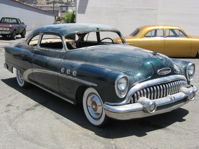 Boogie Brieze 1953 Buick top chop - South City Rod & Custom