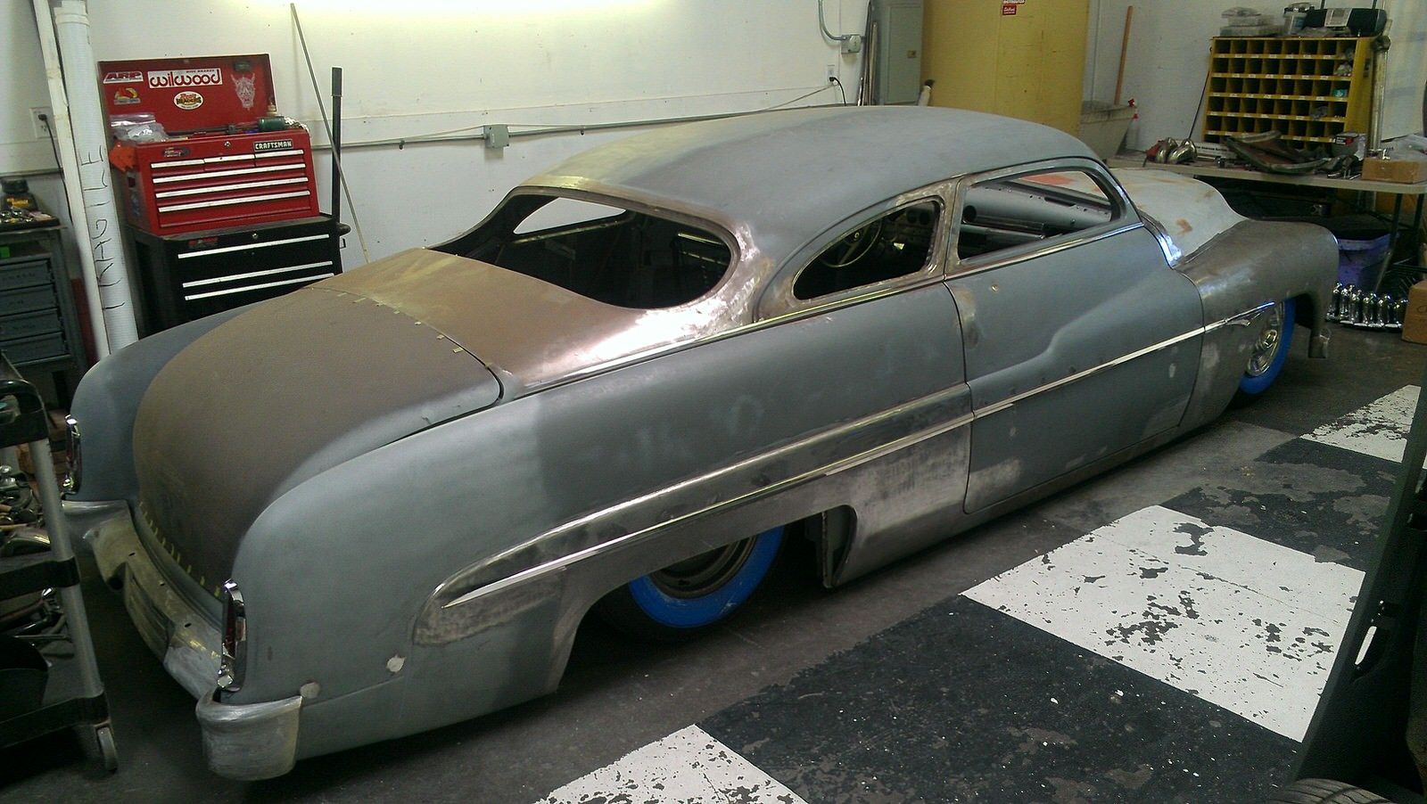 Nick Rogers 1951 Mercury (Ruggiero Mercury) - South City Rod & Custom