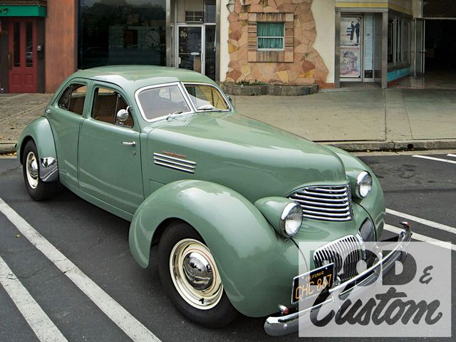 Phil Linhares 1941 Graham Hollywood - South City Rod & Custom - Photo by Peter Vincent