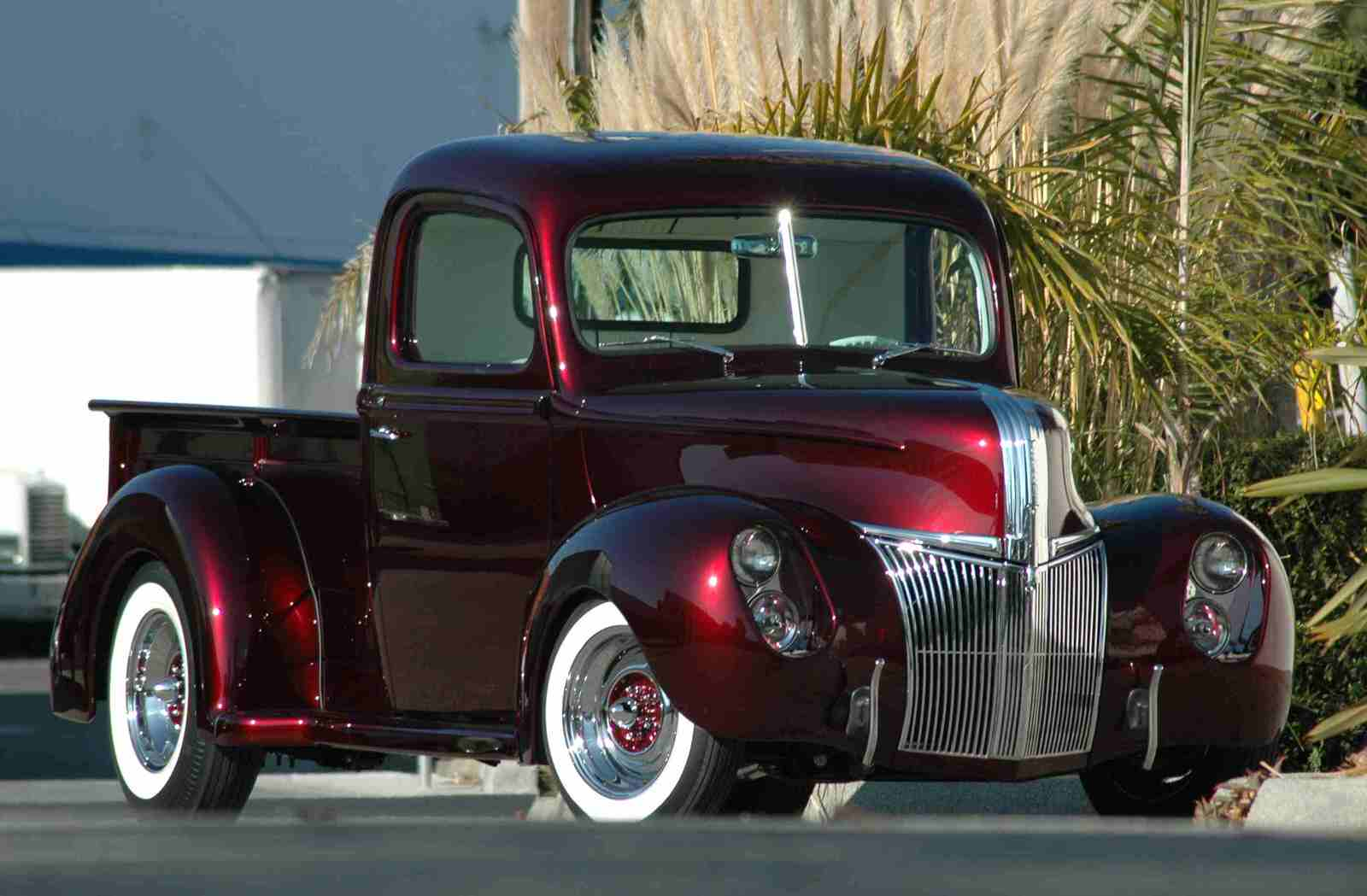 Dave Pozzi 1941 Ford Pickup (Lepesh Pickup) - Photo by Pat Ganahl