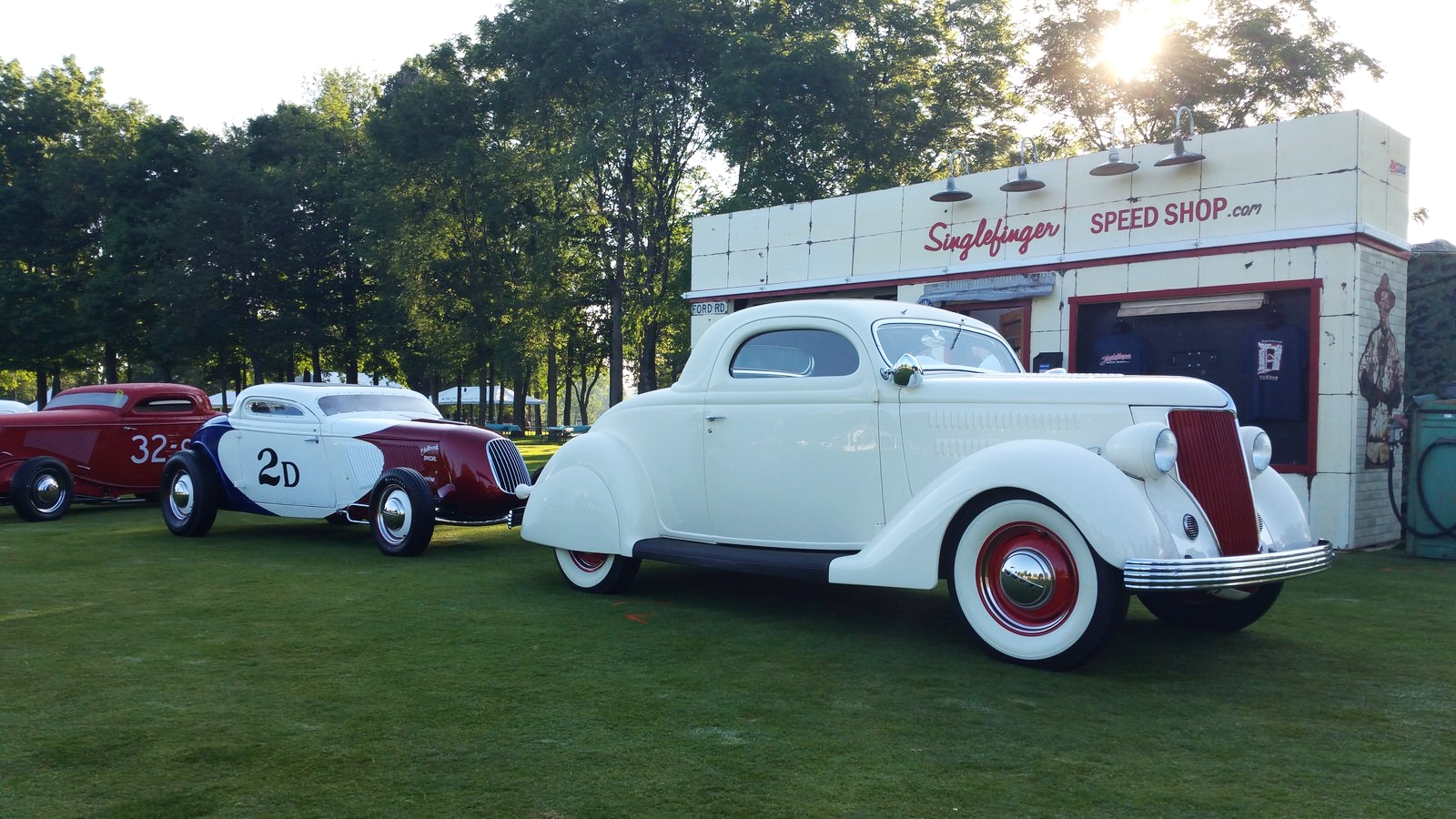 South City Rod & Custom - at Concours d'Elegance of America in Plymouth, MI
