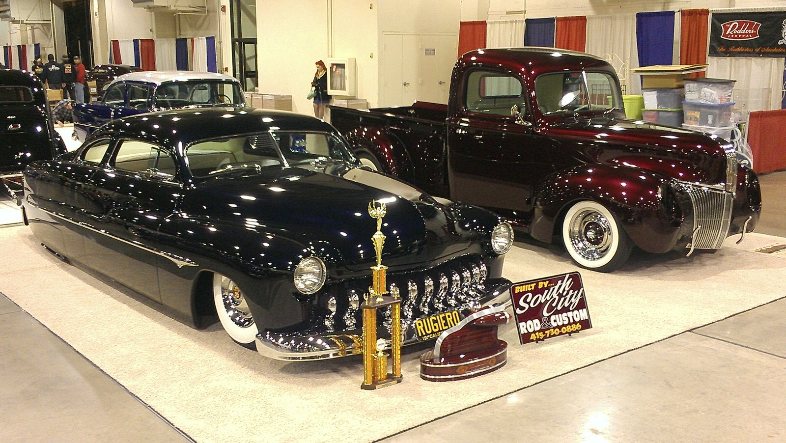 South City Rod & Custom - at the Grand National Roadster Show in Pomona, CA