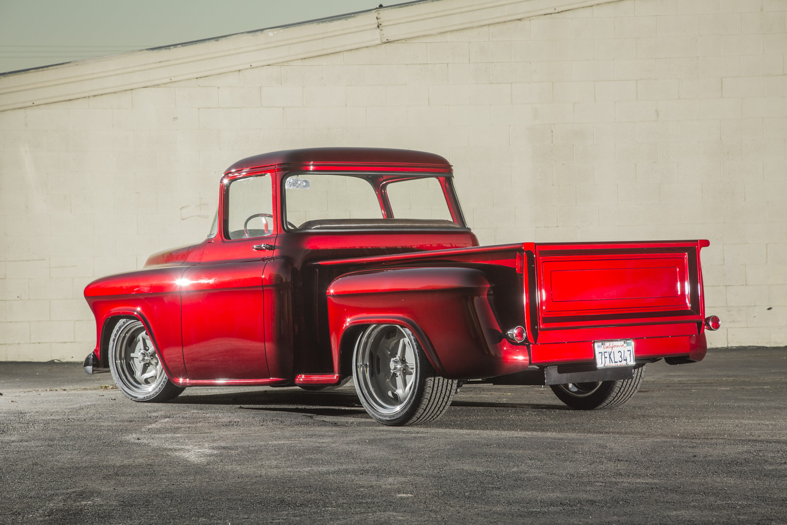 Miguel Nava 1956 Chevy Pickup - South City Rod & Custom - Photo by Tim Sutton