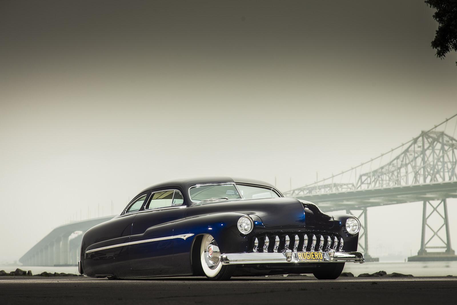 Nick Rogers 1951 Mercury (Ruggiero Mercury) - South City Rod & Custom - Photo by Tim Sutton