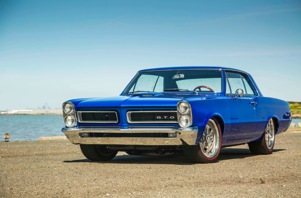 John Dooley 1965 Pontiac GTO - South City Rod & Custom - Photo by Tim Sutton