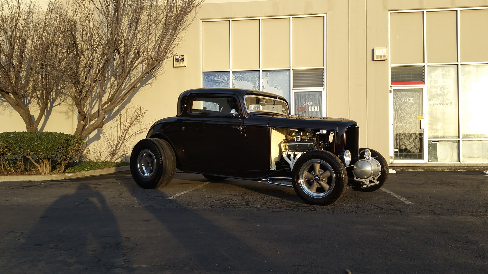 Beppie Pistone 1932 Ford 3-Window - South City Rod & Custom