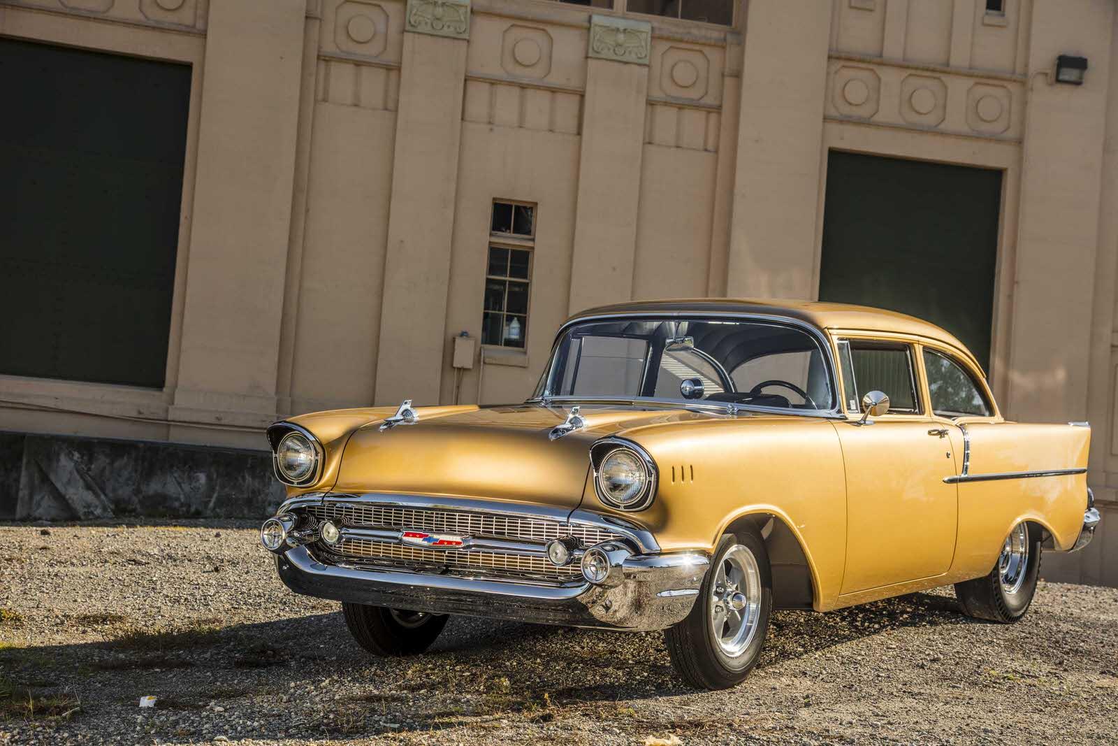 Tony Jurado 1957 Chevy - South City Rod & Custom - Photo by Tim Sutton
