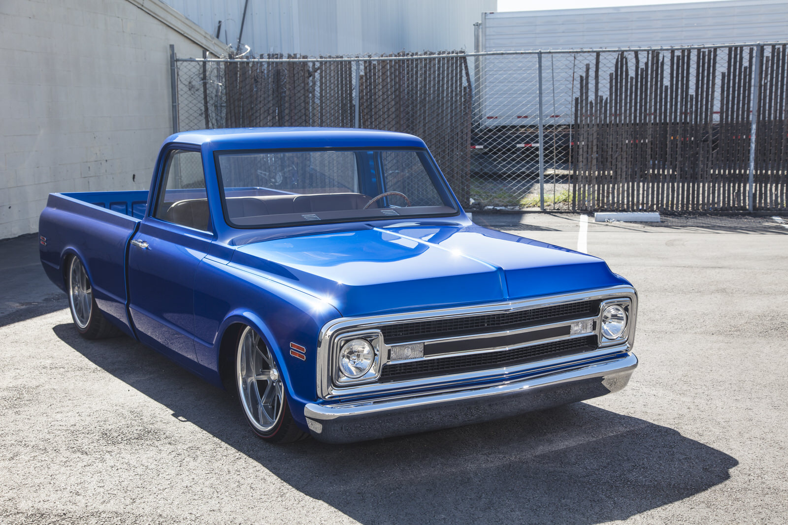 Sean Provost 1970 Chevy C10 Pickup - South City Rod & Custom - Photo by Tim Sutton