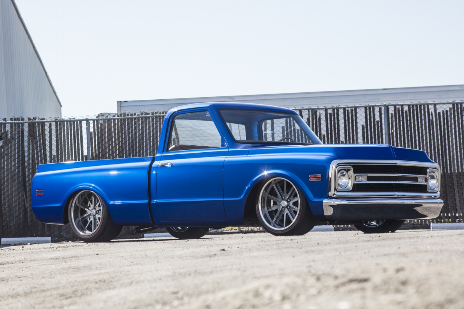 Sean Provost 1970 Chevy C10 Pickup - Photo by Tim Sutton