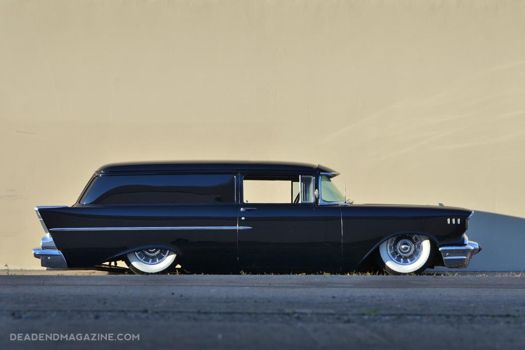 Tony Lafon 1957 Chevy Wagon - South City Rod & Custom - Photo by Juan and Jesus Espinoza