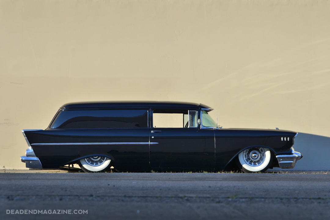 Tony Lafon 1957 Chevy Wagon - Photo by Juan and Jesus Espinoza